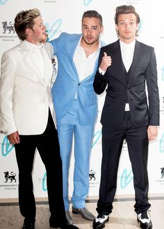 Niall Horan, Liam Payne and Louis Tomlinson attend The Great Gatsby Ball in support of Trekstock - April 16th, 2015