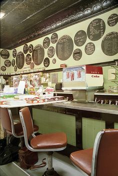 Drake's - Long Counter View 50s Diner, Vintage Diner, Soda Fountain, University Of Michigan, Blue Plates, Ann Arbor, Drake, Electra Heart, Diners