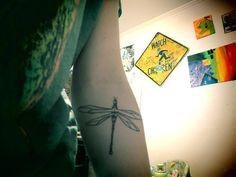 """""""DragonFly""""    Done by Dean Relford in New Orleans    'like' La La Land Art on Facebook"""