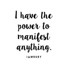 Say it with me... #affirmation #loa #manifest #lawofattraction