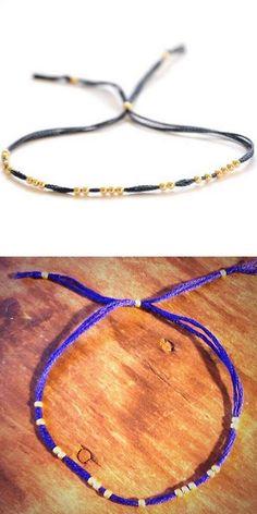 DIY Tiny Friendship Bracelet