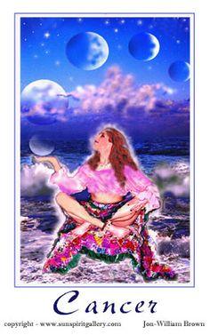 Goddess of Astrology- Cancer