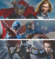 Avengers: Comic to Movie Part 1