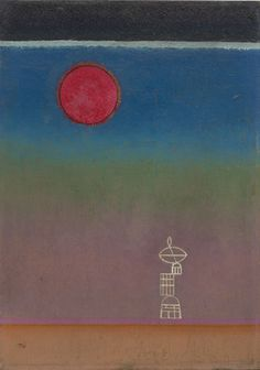 Wassily Kandinsky - Far Away, November 1931