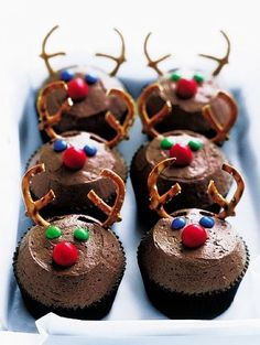 Fantastic ! 2014 Christmas reindeer dessert recipes that kids will love ! - Fashion Blog