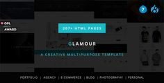 Glamour - Multipurpose OnePage & MultiPage Drupal 7 & 8 Theme . Glamour has features such as High Resolution: Yes, Compatible Browsers: IE10, IE11, Firefox, Safari, Opera, Chrome, Edge, Compatible With: Drupal Commerce, Bootstrap 3.x, Software Version: Drupal 8.1.x, Drupal 8.0.x, Drupal 7.4x, Drupal 7.3x, Drupal 7.2x, Drupal 7.1, Columns: 4+