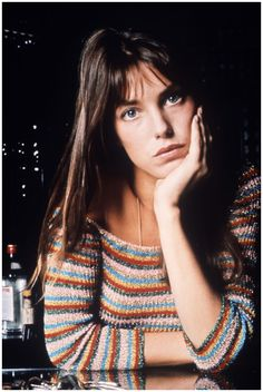 Jane Birkin – Long, natural-looking hair with a girlish fringe had a nonchalance that set Jane Birkin apart from other Sixties icons 1973 Rex Features