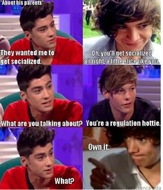 """Luv Harrys famous """"own it"""" face ! lol"""
