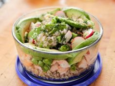 Get this all-star, easy-to-follow Salmon and Veggie Grain Bowl recipe from Ree Drummond