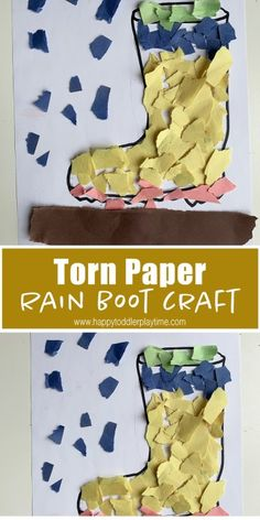 30+ Fun & Easy Rainy Day Activities for Kids - HAPPY TODDLER PLAYTIME Rainy Day Activities For Kids, Outdoor Activities For Kids, Easter Activities, Spring Activities, Toddler Activities, Steam Activities, Rain Crafts, K Crafts, Daycare Crafts