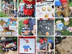 Fun ideas for a party or just for a fun pirate kind of day