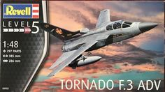 Revell 03925 1:48 Tornado F.3 ADV Aircraft Model Kit  #Revell
