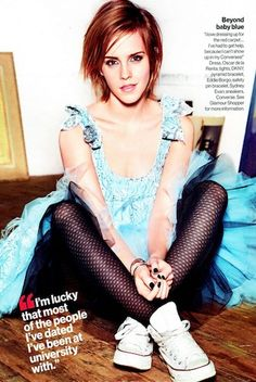 Emma Watson Is A Bona Fide Vixen On The Cover Of Glamour