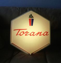 Rare Holden Torana light up sign sold recently at auction