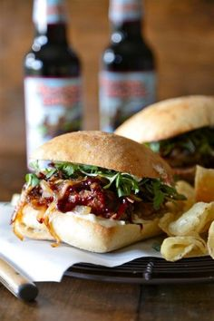 Cranberry Honey Mustard Meatloaf Sandwiches - www.countrycleaver.com