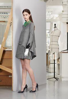 The Modern Monochrome @Dior Christian Dior Pre-Fall 2013 #Fashion
