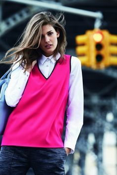 Next Fall-Winter 2014-2015 Lookbook (1) Winter 2014 2015, Lookbook, V Neck Tops, Html, Fashion News, Cool Hairstyles, Magazine, Jackets, Clothes