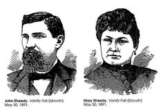 (picture from www.nebraskahistory.org) The arrest of Mary Sheedy for the murder of her husband compelled Lincolnites to confront growing concerns that the contemporary gender system was under assault. Mary Sheedy's life story and the support she received from women in Lincoln provided clear evidence that for many women the compliance by women that had sustained the prevailing system in place was eroding.