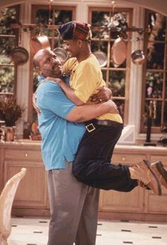 James Avery & Will Smith on The Fresh Prince of Bel Air Fresh Prince, Willian Smith, Prinz Von Bel Air, Arte Do Hip Hop, Air Photo, James Avery, Mood Pics, Best Shows Ever, New Wall