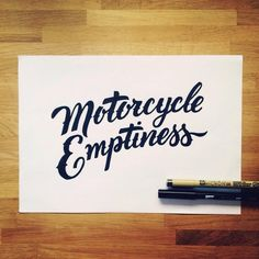 """Motorcycle Emptiness"" from @ianbarnard for the @CreativeMarket #SketchWeekChallenge"