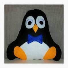 Pinguin uit vilt