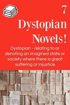 Looking for your next dystopian book series? This list of dystopian books are the perfect next step and are sure to be the right fit for any dystopian fan! Find your next favorite book! Amazing Books, Great Books, Dystopian Society, Books For Teens, Study Materials, Kids Reading, Book Series, Hunger Games, All About Time