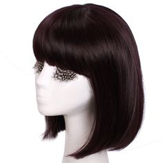 Sailor Saturn Wig- I would've liked it to be a darker brown, maybe even black Sailor Moon Costume, Sailor Saturn, Cosplay Wigs, Costumes, Dress Up Clothes, Fancy Dress, Men's Costumes, Suits