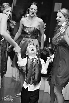 Happiest little ringbearer EVER! #wedding #kids