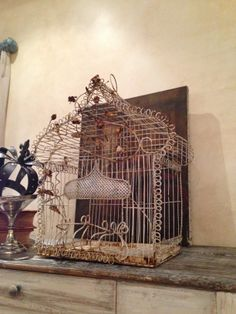French bird cage.