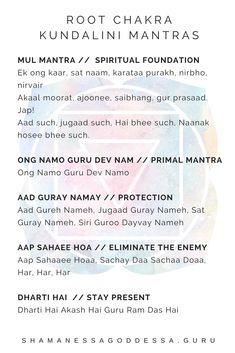 Kundalini Mantra, Kundalini Yoga Poses, Chakra Mantra, Kundalini Meditation, Sanskrit Mantra, Mindfulness Meditation, Mantra Meditation, Ayurveda, Pranayama
