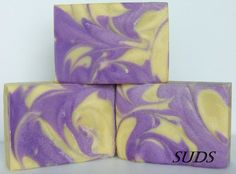 Handmade soap from scratch, by SUDS handmade soap co.