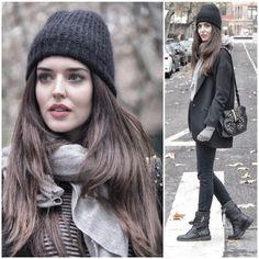 Clara Alonso - street style winter look Clara Alonso, Cold Weather Fashion, Winter Fashion, Madrid Street Style, Russian Winter, Dedicated Follower Of Fashion, Winter Stil, Winter Mode, Russian Fashion