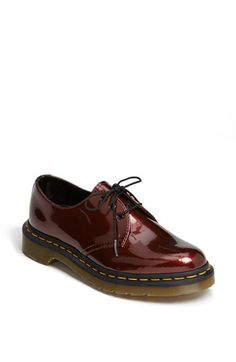 Dr. Martens '1461 W' Oxford   Nordstrom...I might have to gift these to myself<3