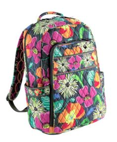 a7956aba683 New bigger laptop backpack from Vera Bradley plus new pattern Jazzy Blooms!