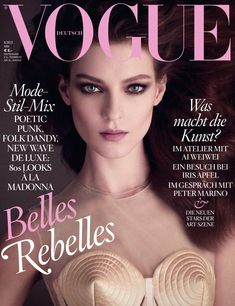 Vogue Cover Mai 2013  #cover #covermodel #voguegermany