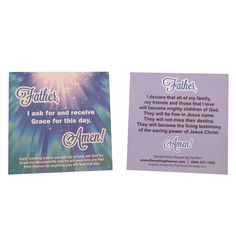 Declaration Cards - Revealing Heaven | Official Site of One Quest & Kat Kerr