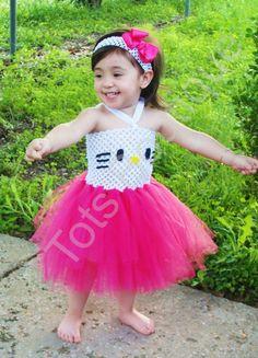Kitty Tutu Dress - Infant. $40.00, via Etsy.
