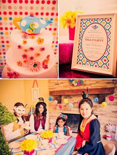 an adorable modern Alice in Wonderland party