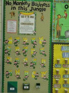 jungle+theme+classroom | Mrs. Sugg's 4th Grade!