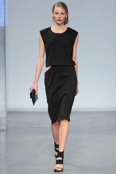 Helmut Lang Spring 2014 http://www.renttherunway.com/designer_detail/helmutlang Repin your favorite #NYFW looks to get them from the Runway to #RTR!