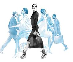 Photorealistic Fashion Illustrations - Glamour by Nabil Nezzar Looks Like a Photoshoot (GALLERY)
