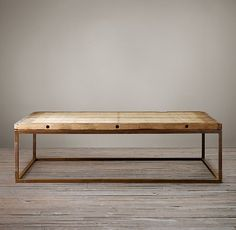 Brickmaker's Coffee Table