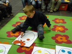 grote paaseieren - kleurenspel