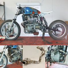 Honda CX500-GL400 Gl500 2 Into 1 Full Stainless System-cafe Bobber Custom BBCR–美國eBay|MYDAY代標代購網、海外購物第一站