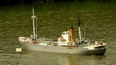 CAINE LIBERTY SHIP HUGE SCALE 1.35 awesome rc ship