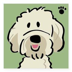 Goldendoodle Sticker