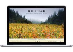 Red Car Wine // integrated branding program by CDA // chendesign.com