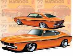 Muscle Cars That Should Have Been+ by custom car designer Keith Kaucher.