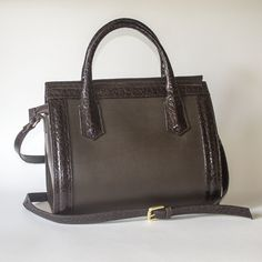 Brown Leather Handbags, Kate Spade, Handmade, Hand Made, Brown Leather Purses, Craft, Brown Leather Bags