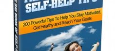 If you want success quickly, this ebook on self help tips is a must.   Work on these tips and you will be amazed.